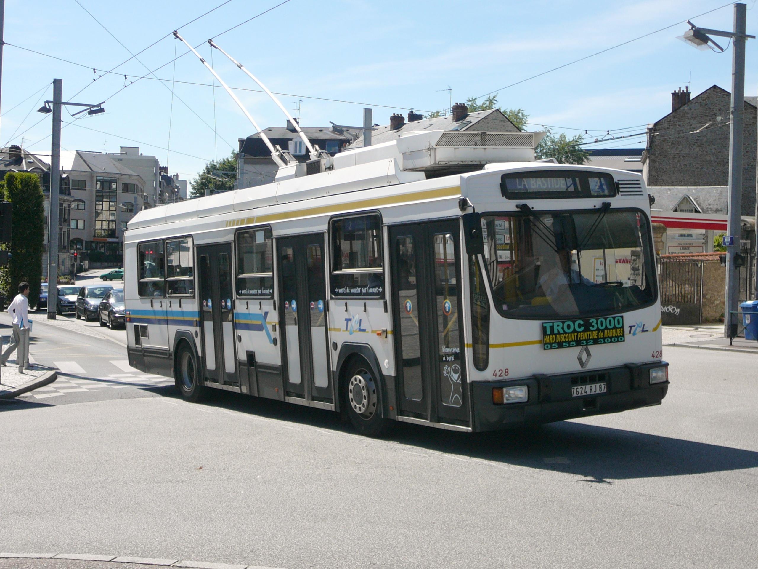 file trolleybus l 39 arr t h tel de ville jpg wikimedia commons. Black Bedroom Furniture Sets. Home Design Ideas