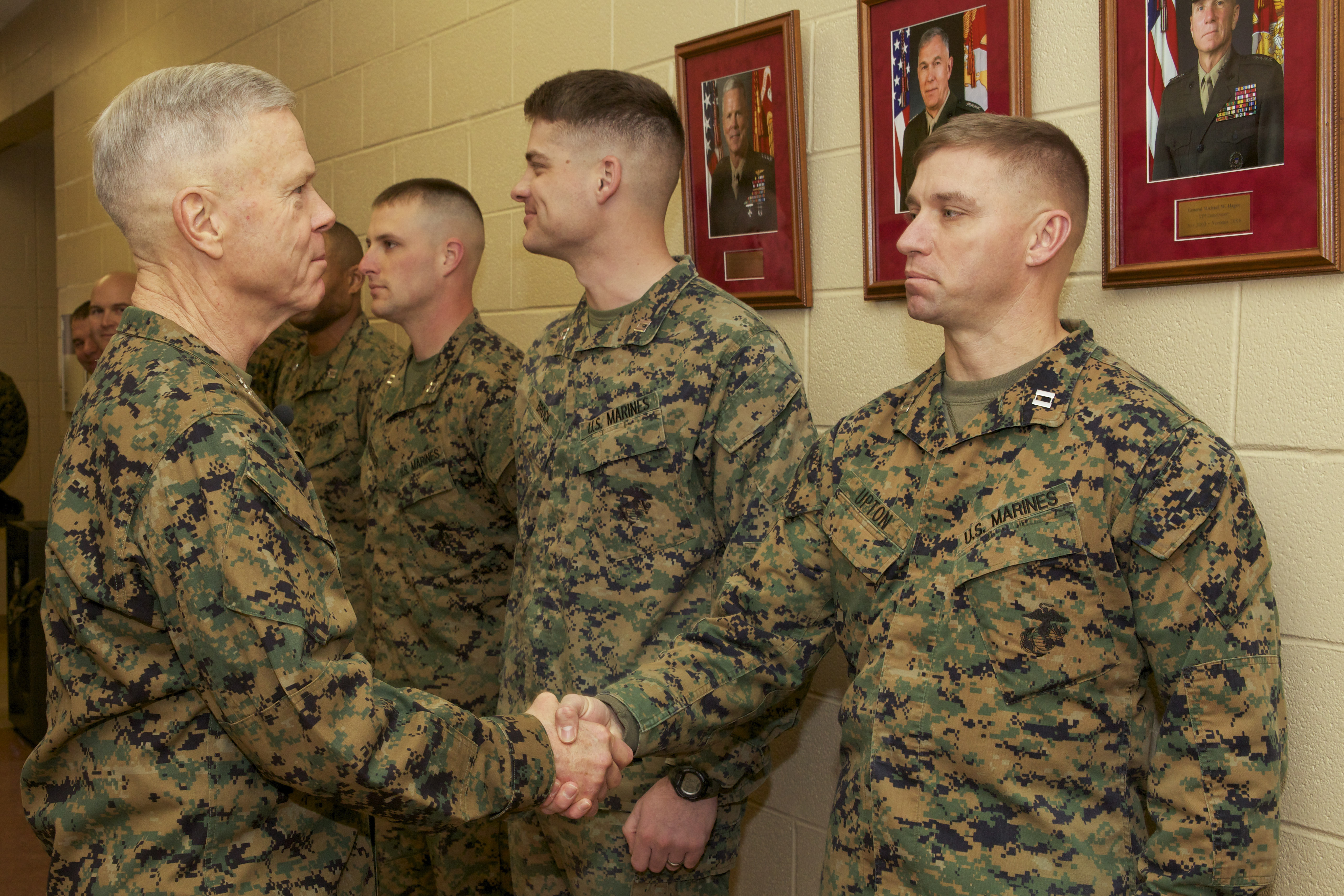 File:U.S. Marine Corps Gen. James F. Amos, left, the ...