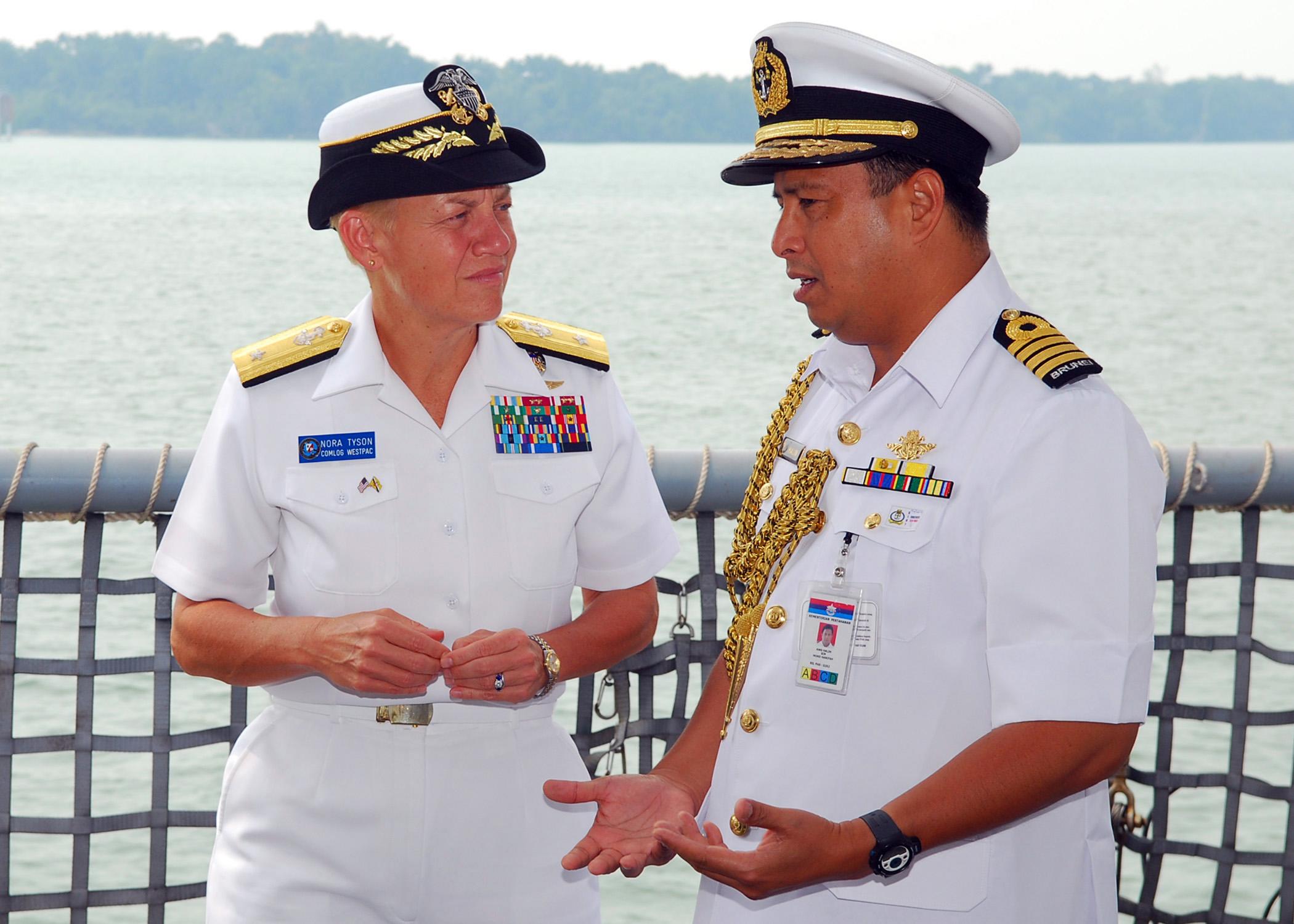 Admiral Nora Tyson
