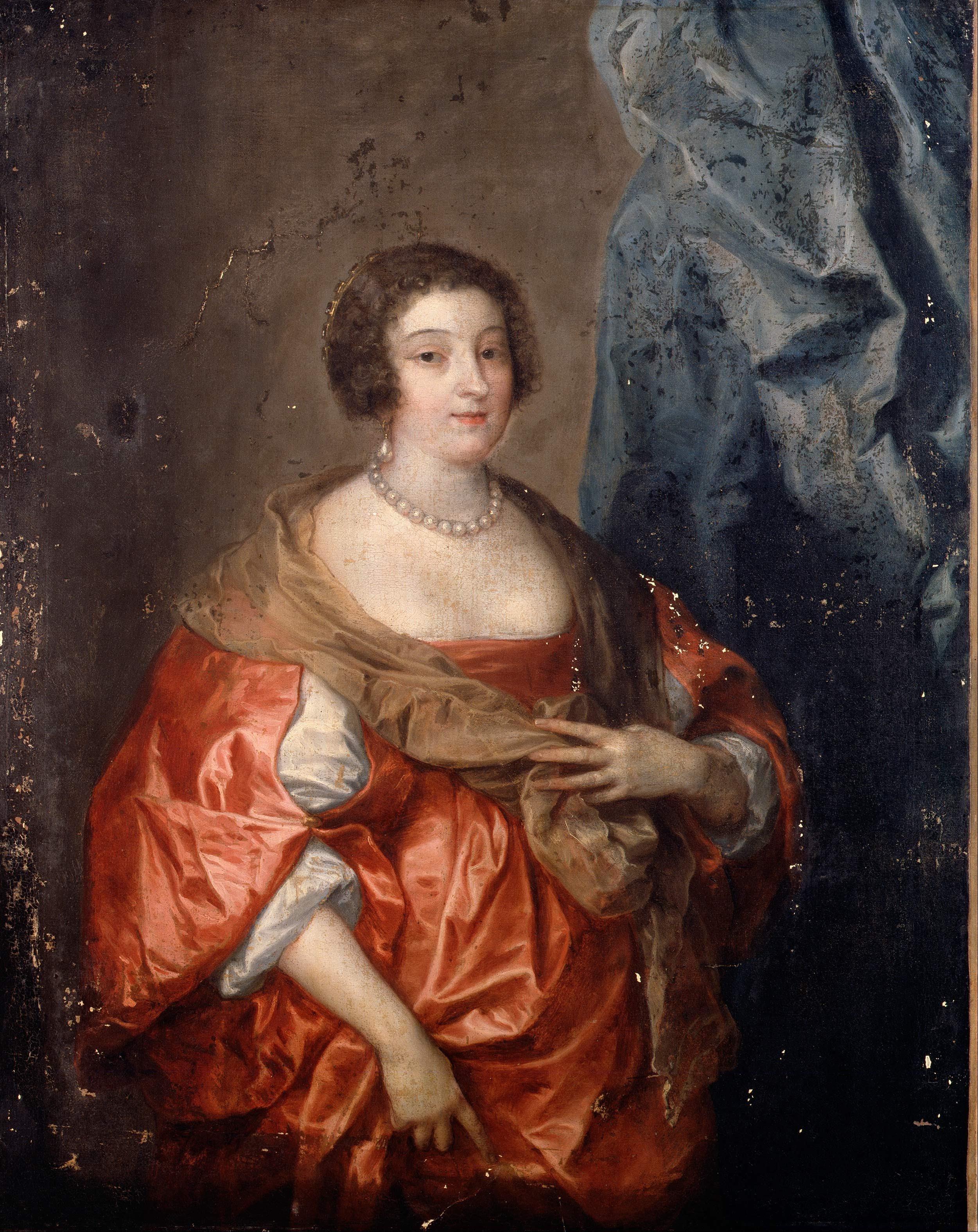 Van Dyck C Sir Anthony Portrait Of A Lady Google Art Project