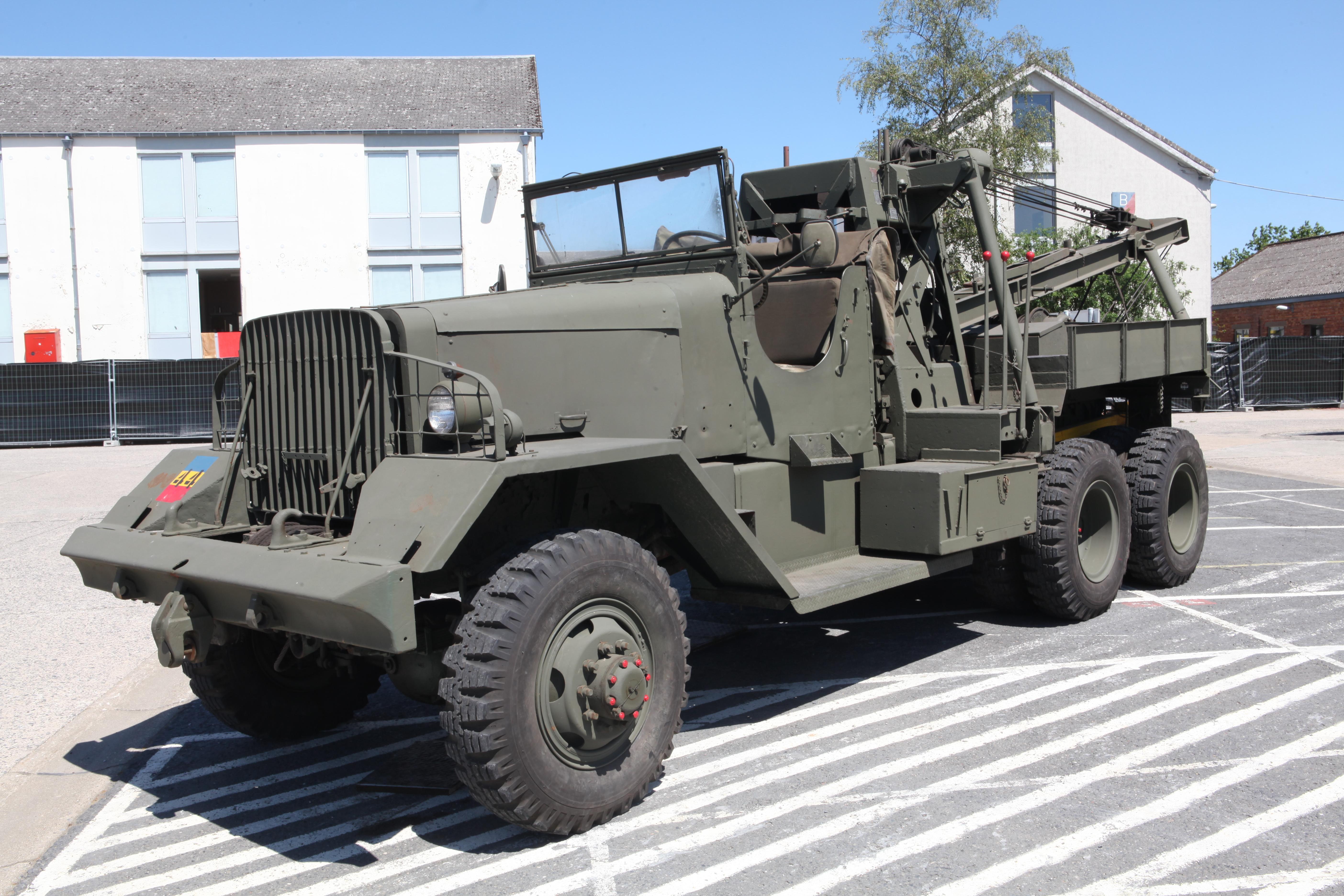 1940 Chevy Truck >> File:Ward La France M1A1 Heavy Wrecker - Flickr - Joost J. Bakker IJmuiden.jpg - Wikimedia Commons