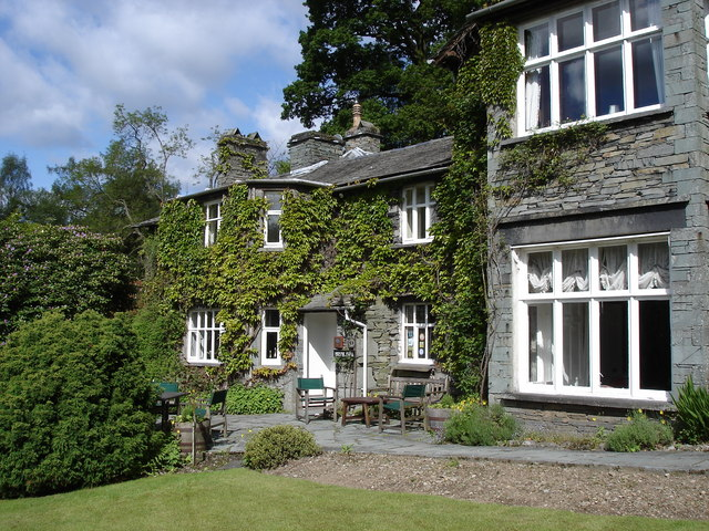 White Moss House hotel - near Rydal Water - geograph.org.uk - 1169785