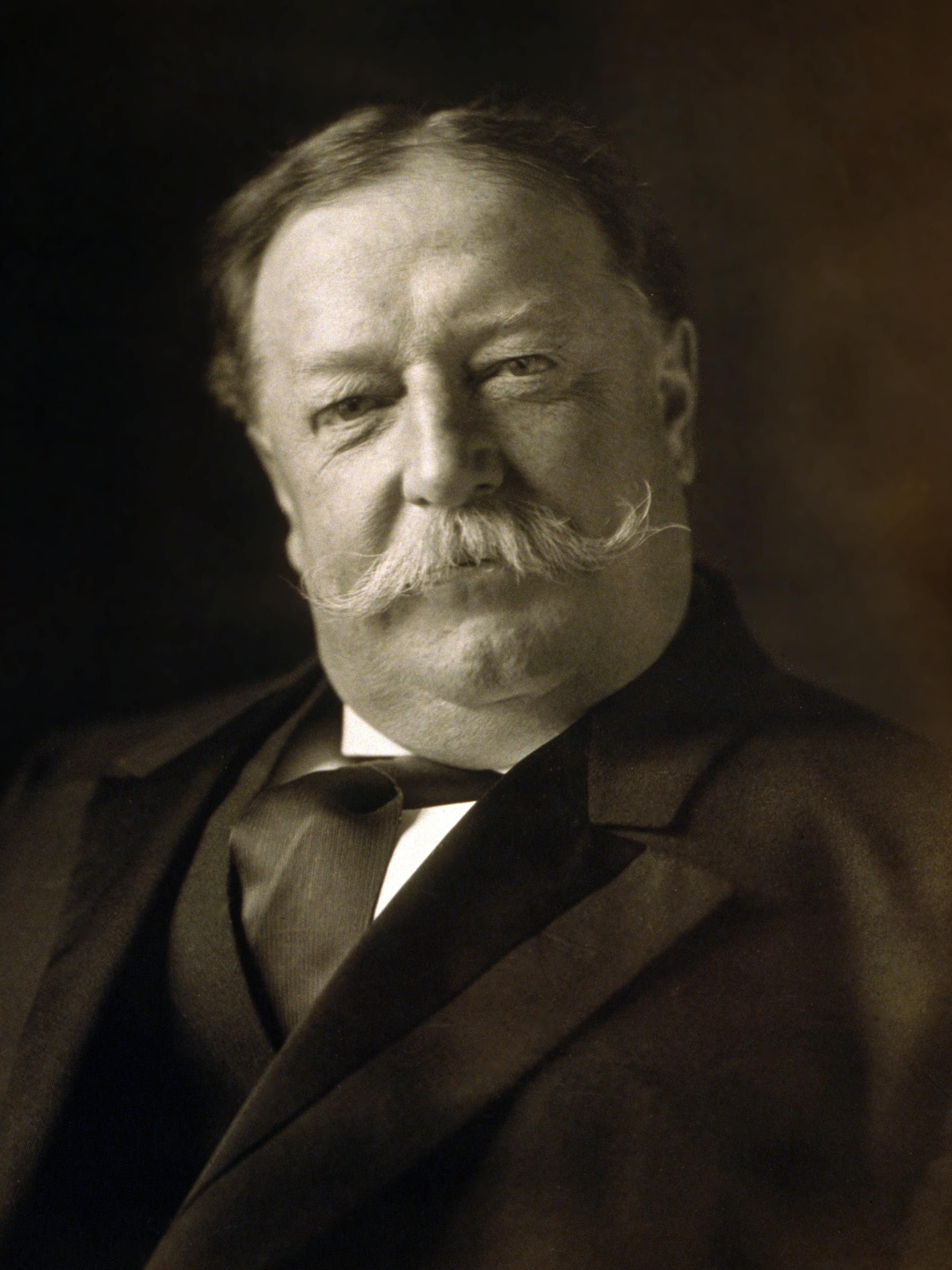 1912, année d'élections aux USA William_Howard_Taft_1909b