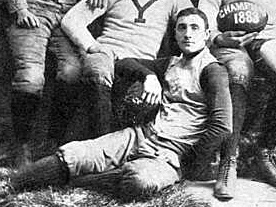 American football player and coach, physician