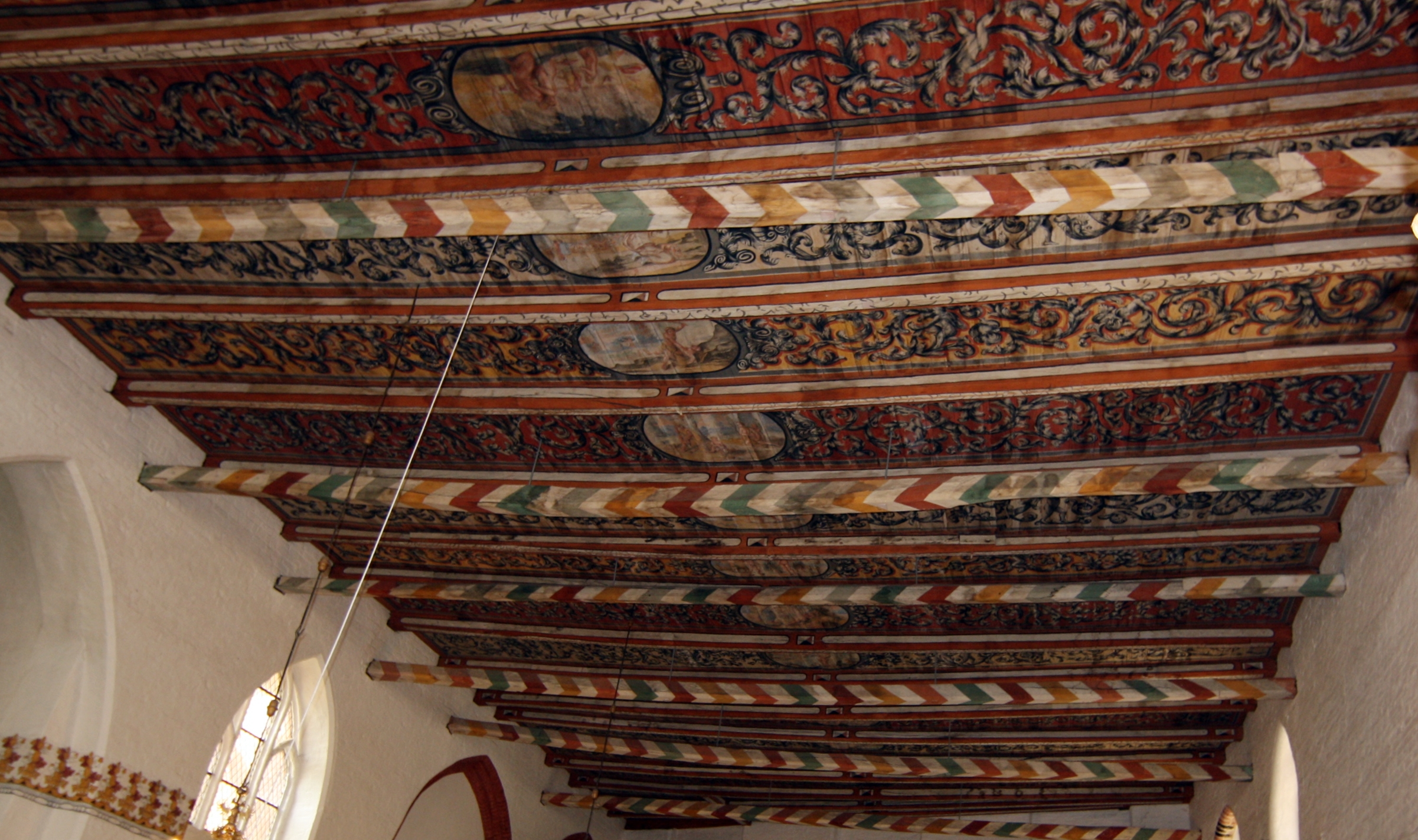 File wismar heiligen geist kirche interieur bemalung for Interieur 607