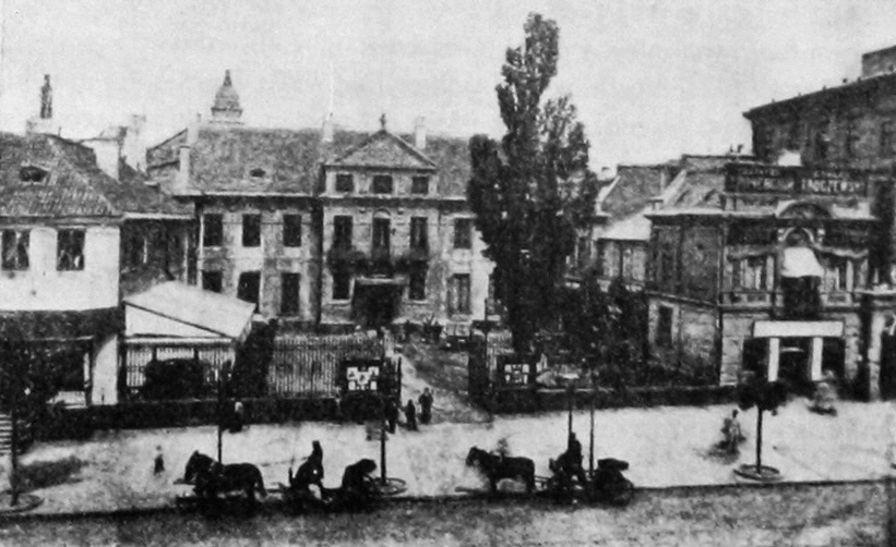Pałac Tarnowskich W Warszawie