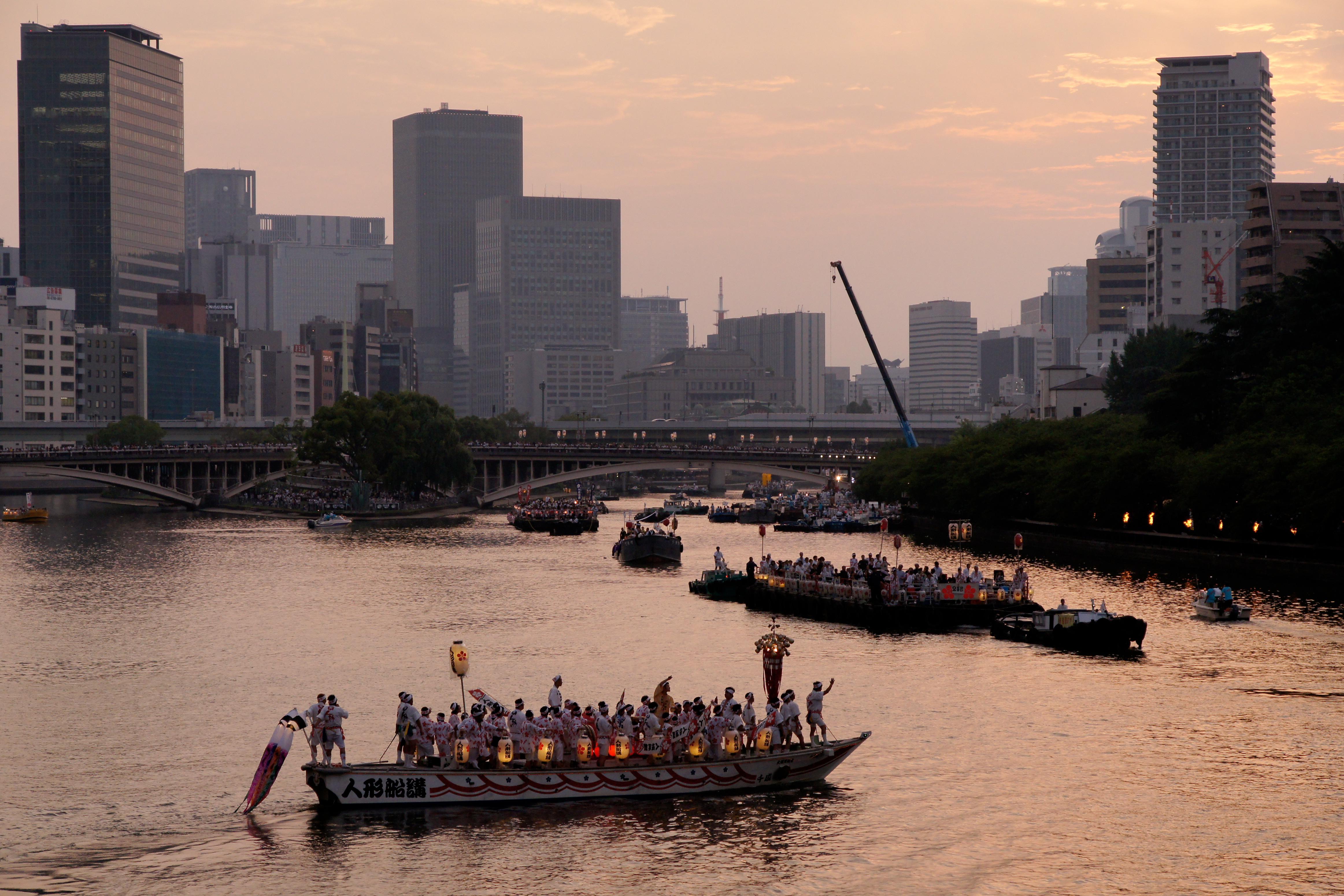 Tenjin Matsuri Osaka