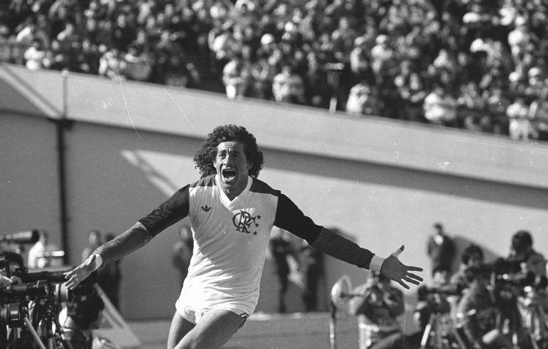 Nunes Flamengo Libertadores 1981