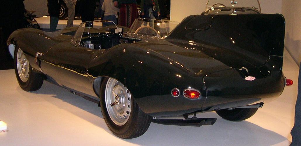 1955 Jaguar XKD rear 34.jpg