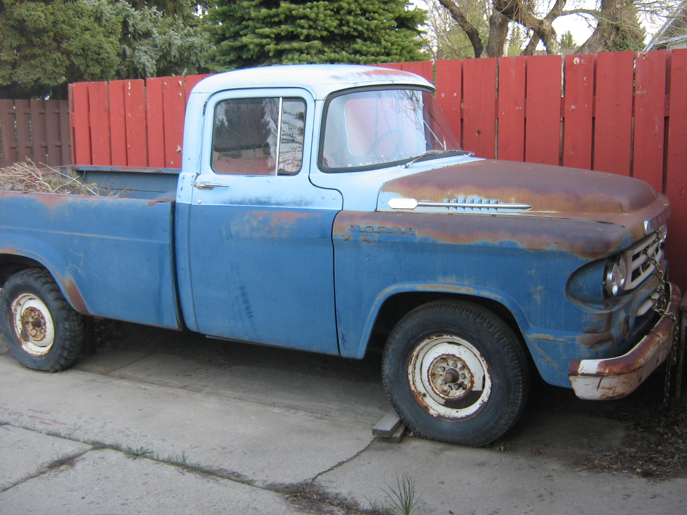 Userbarncas Dodge Trucks Wikimedia Commons 1954 Pickup Truck 1958 60 D Appears In The Sales Name But Same Specs As 57 Modelsedit