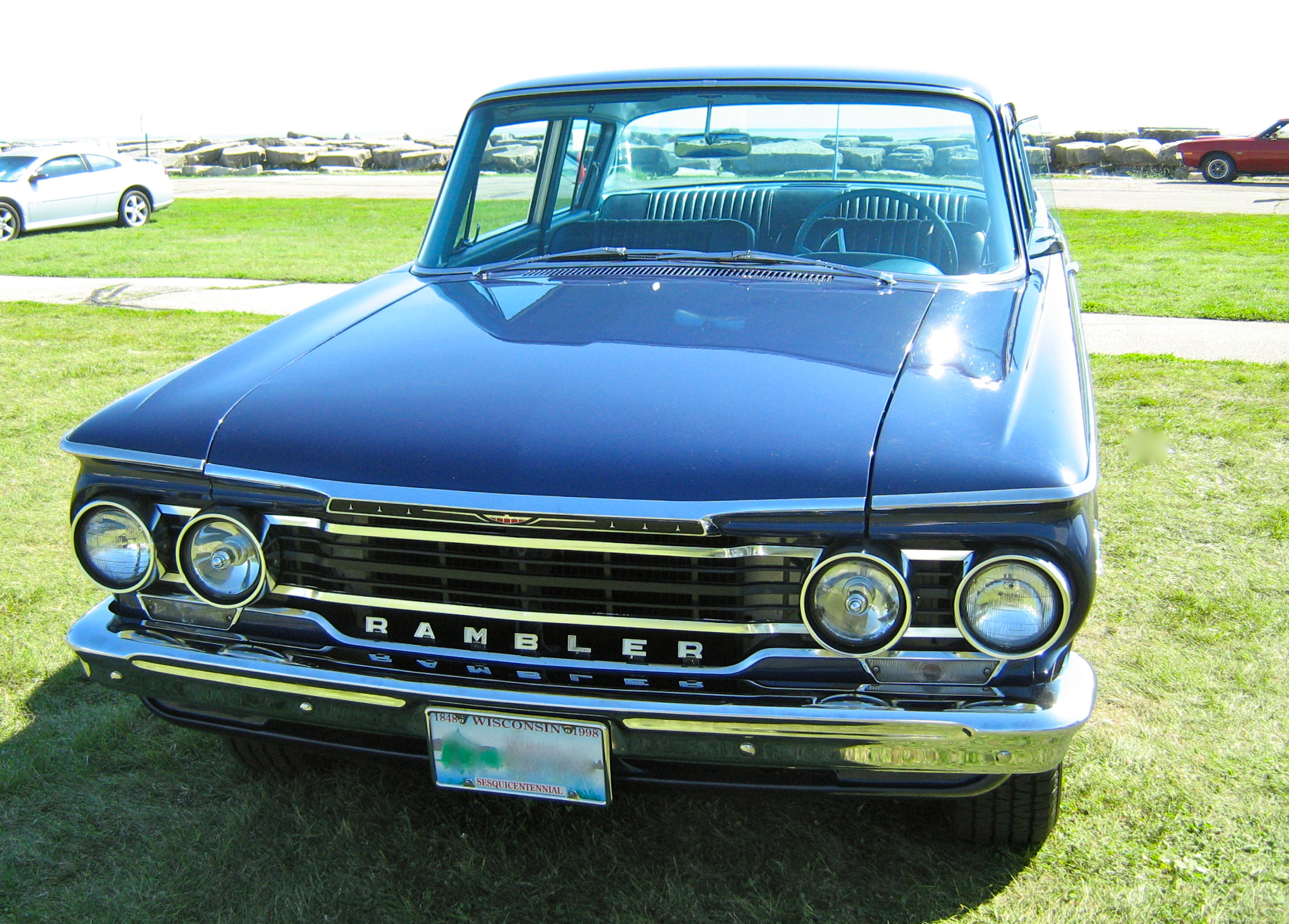 File 1962 Rambler Ambassador 2 Door Sedan Kenosha Blue F