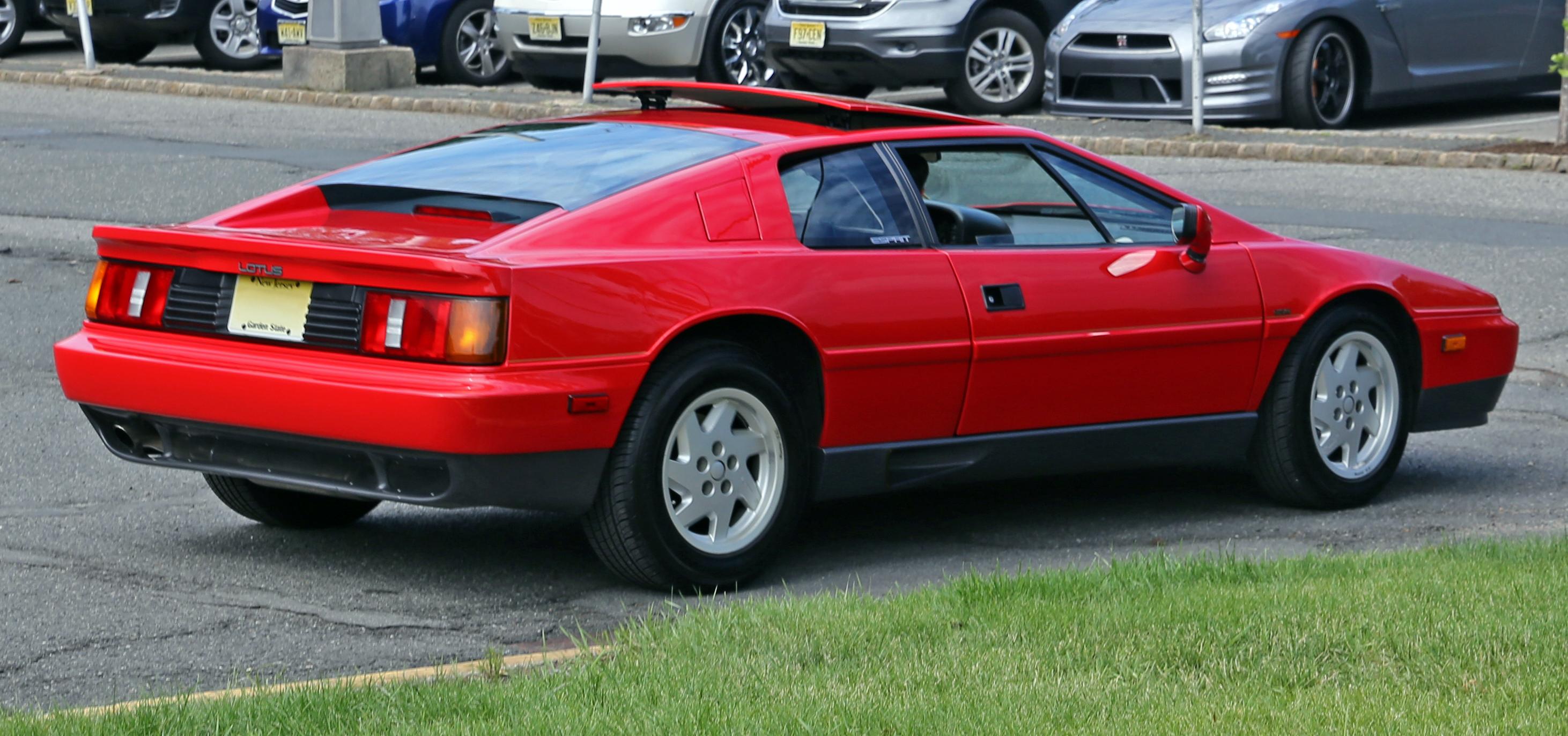 File 1989 Lotus Esprit Turbo Rear Federal Jpg Wikimedia