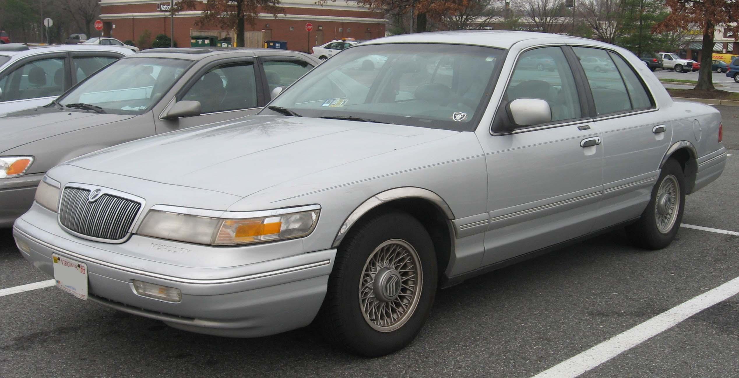 File:95-97 Mercury Grand Marquis.jpg - Wikimedia Commons