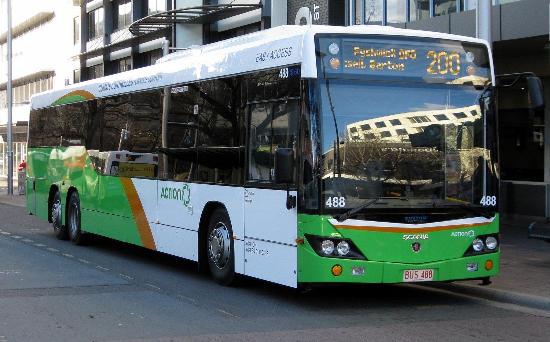 Canberra Şehir İçi Ulaşım