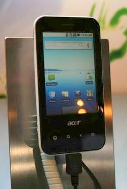 English: Acer beTouch E400 smartphone