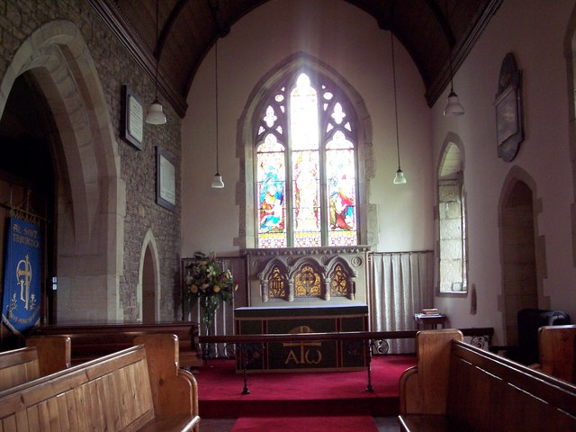 All Saints Church, Terrington - Interior - geograph.org.uk - 494896