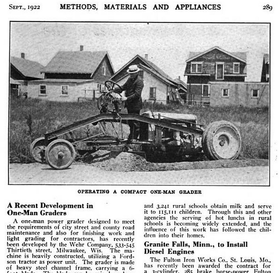 1923 fordson tractor with File American City 1922 Sep P289 Wehr Grader on 3640C in addition Cp cardiff1 besides Other Crawler Makers additionally File Manly 1919 Fig 133 Fordson intake in addition Tractor World 2013.