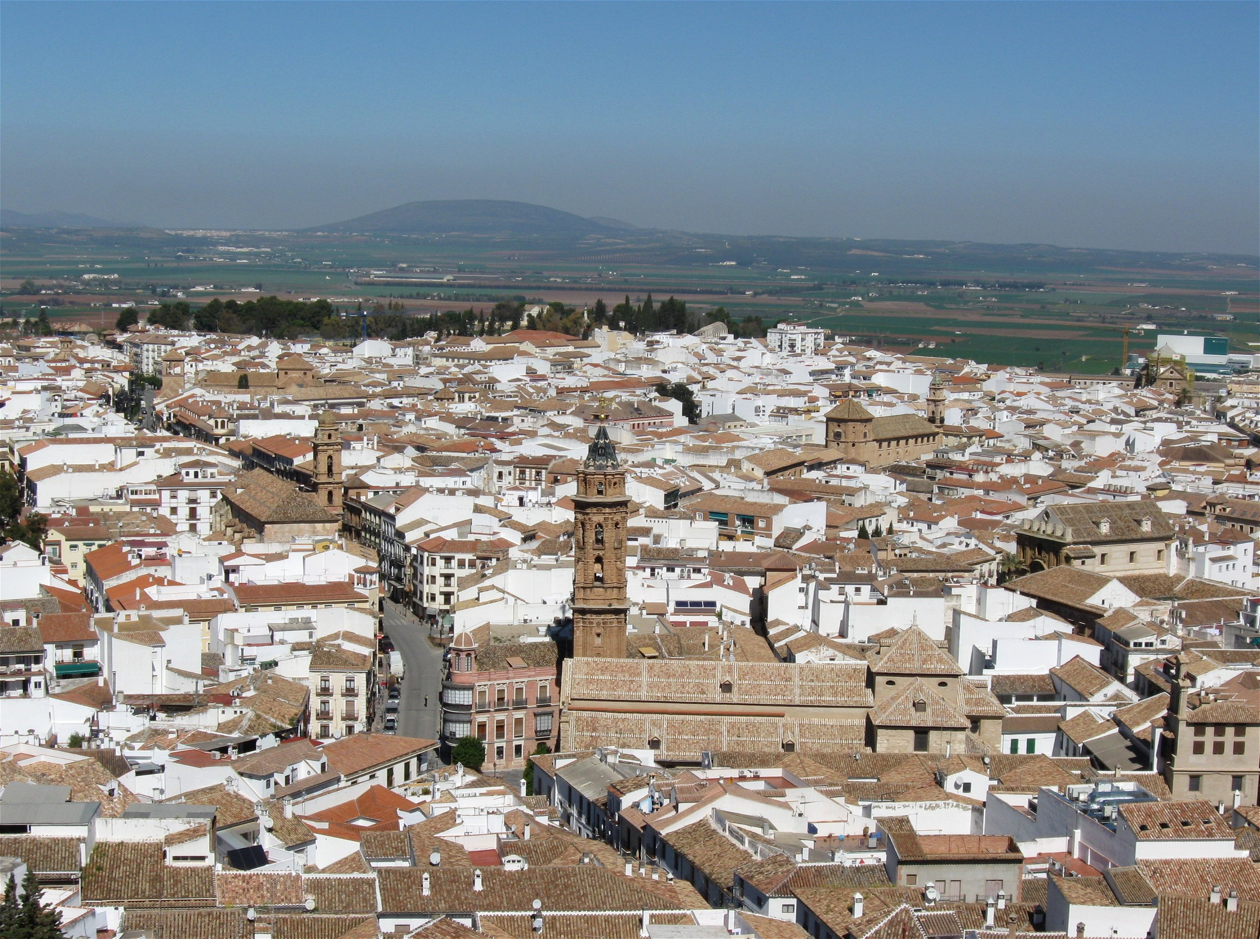 Depiction of Antequera