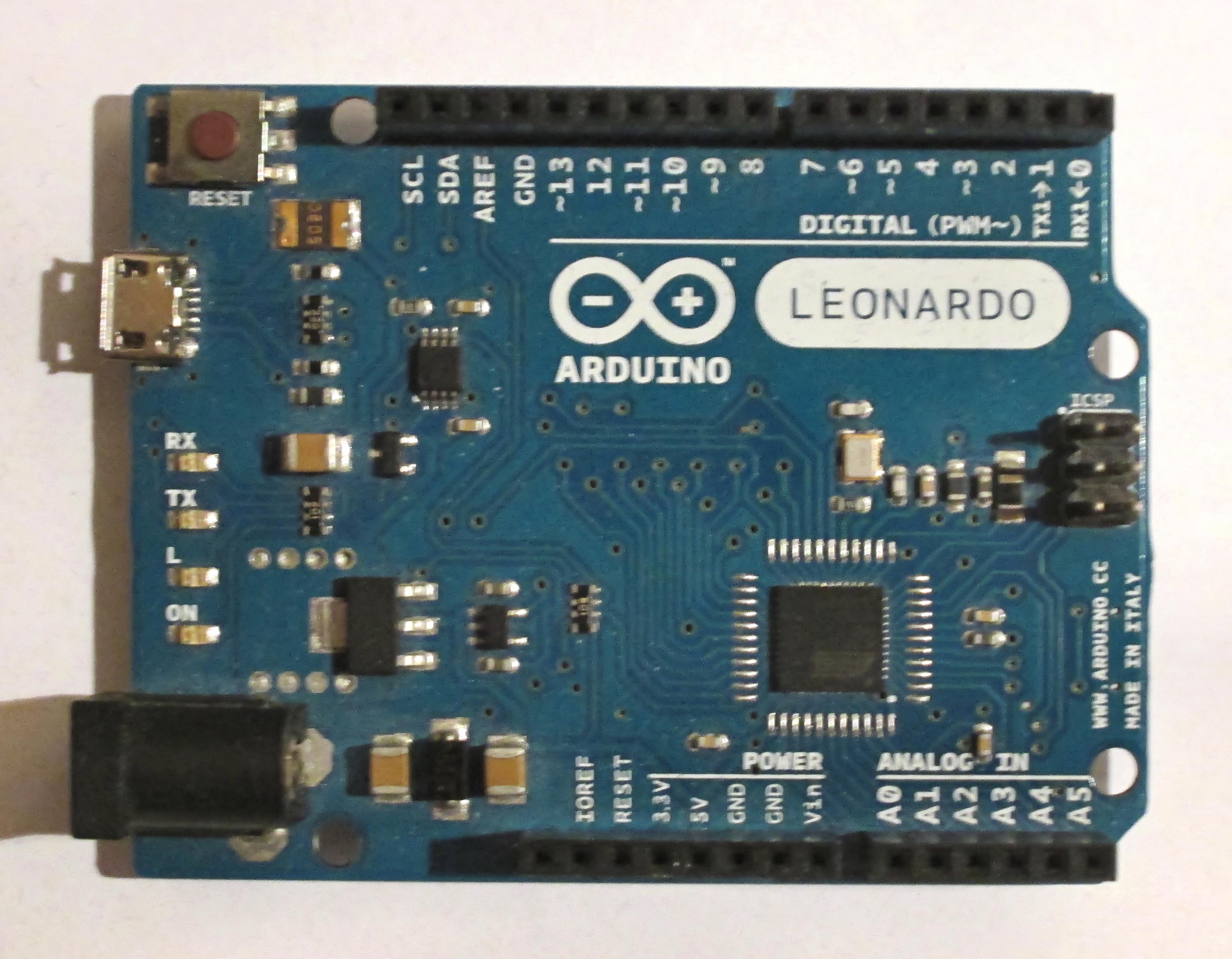 Image result for arduino leonardo