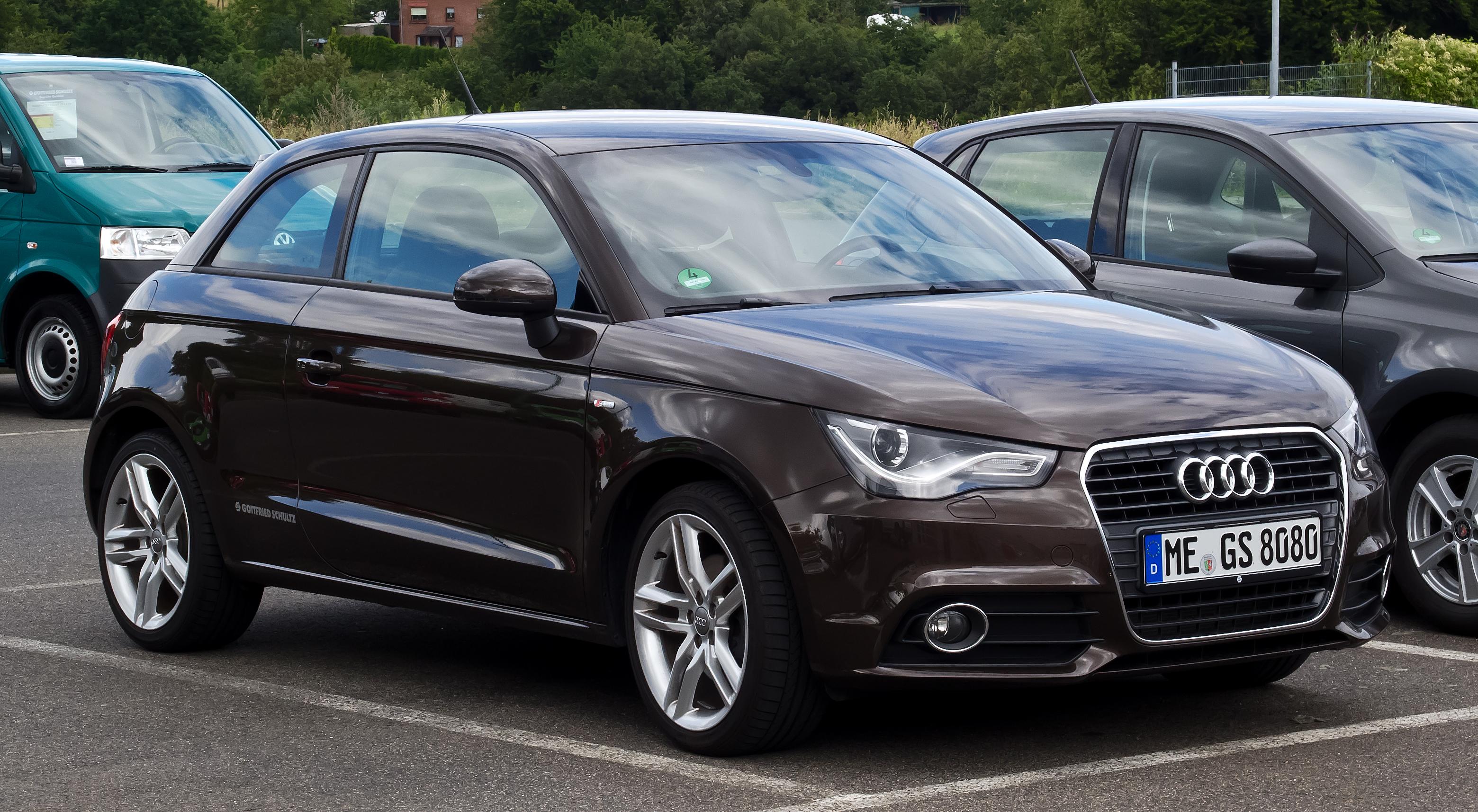File Audi A1 1 4 Tfsi Ambition S Line Frontansicht 21