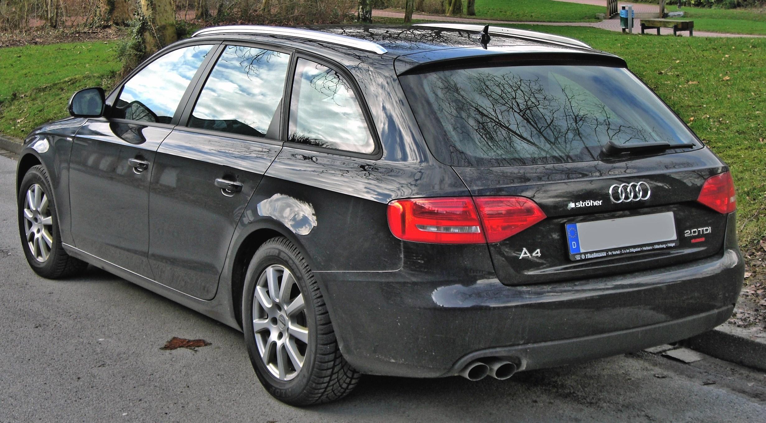 File:Audi A4 Avant B8 20090311 rear.jpg - Wikimedia Commons