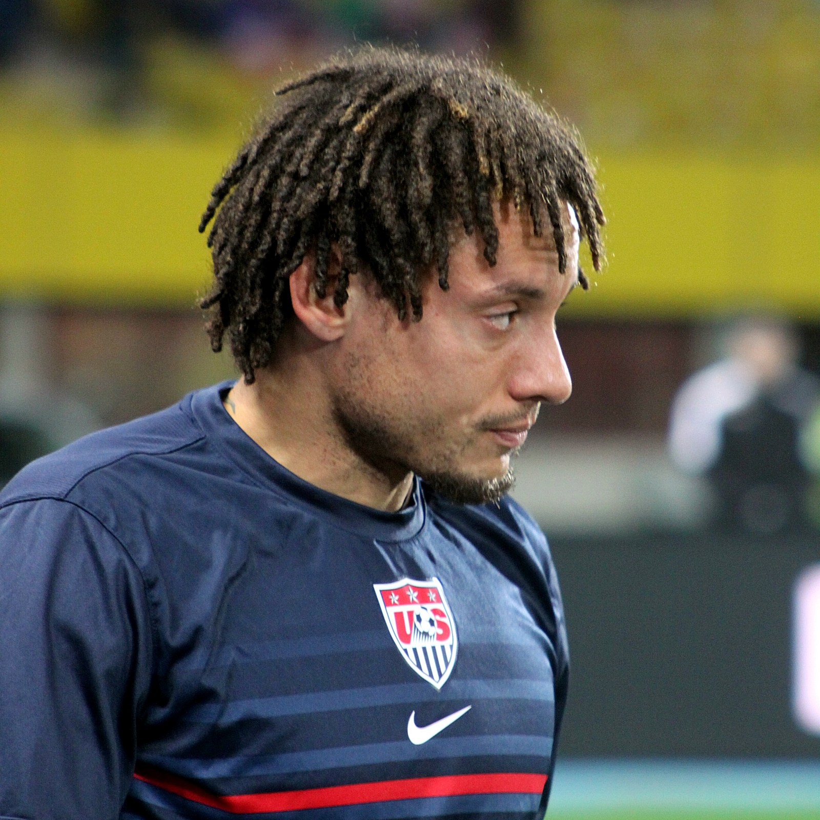 The 36-year old son of father (?) and mother(?) Jermaine Jones in 2018 photo. Jermaine Jones earned a  million dollar salary - leaving the net worth at 4 million in 2018