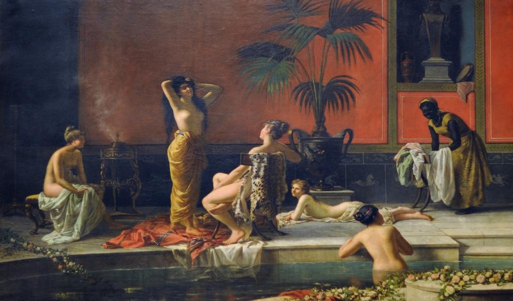 Pompeian bath