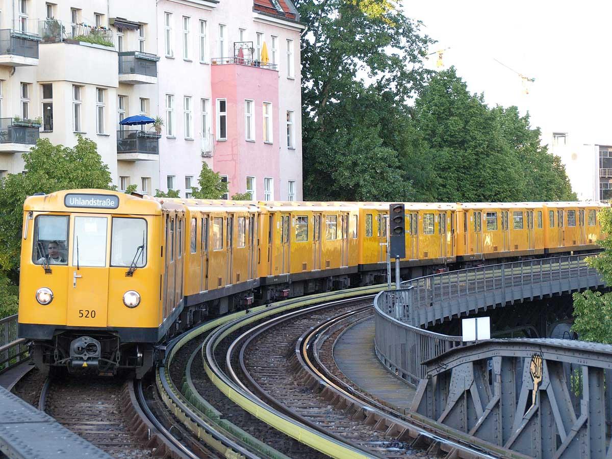BVG Zug A3 SchlesischesTor
