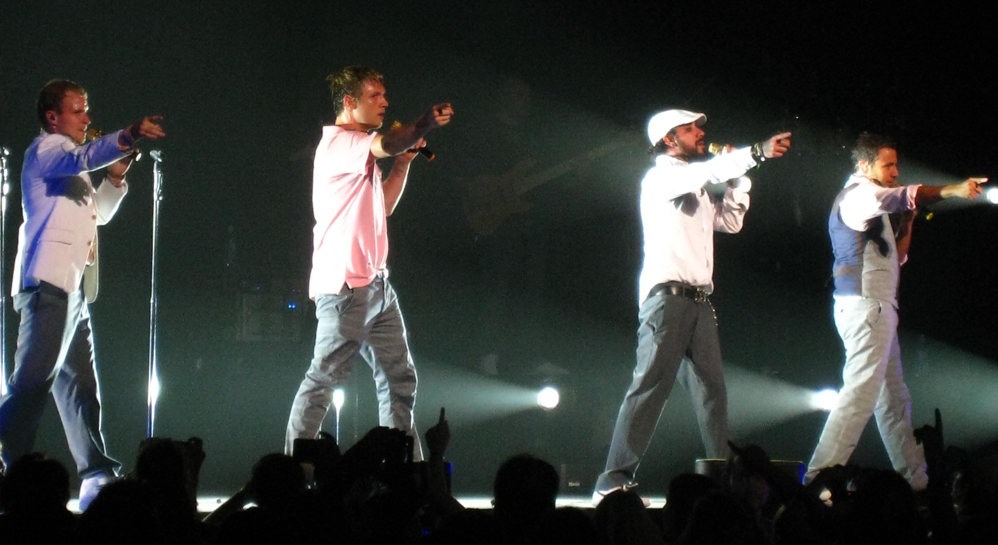 Backstreet Boys Unbreakable Tour