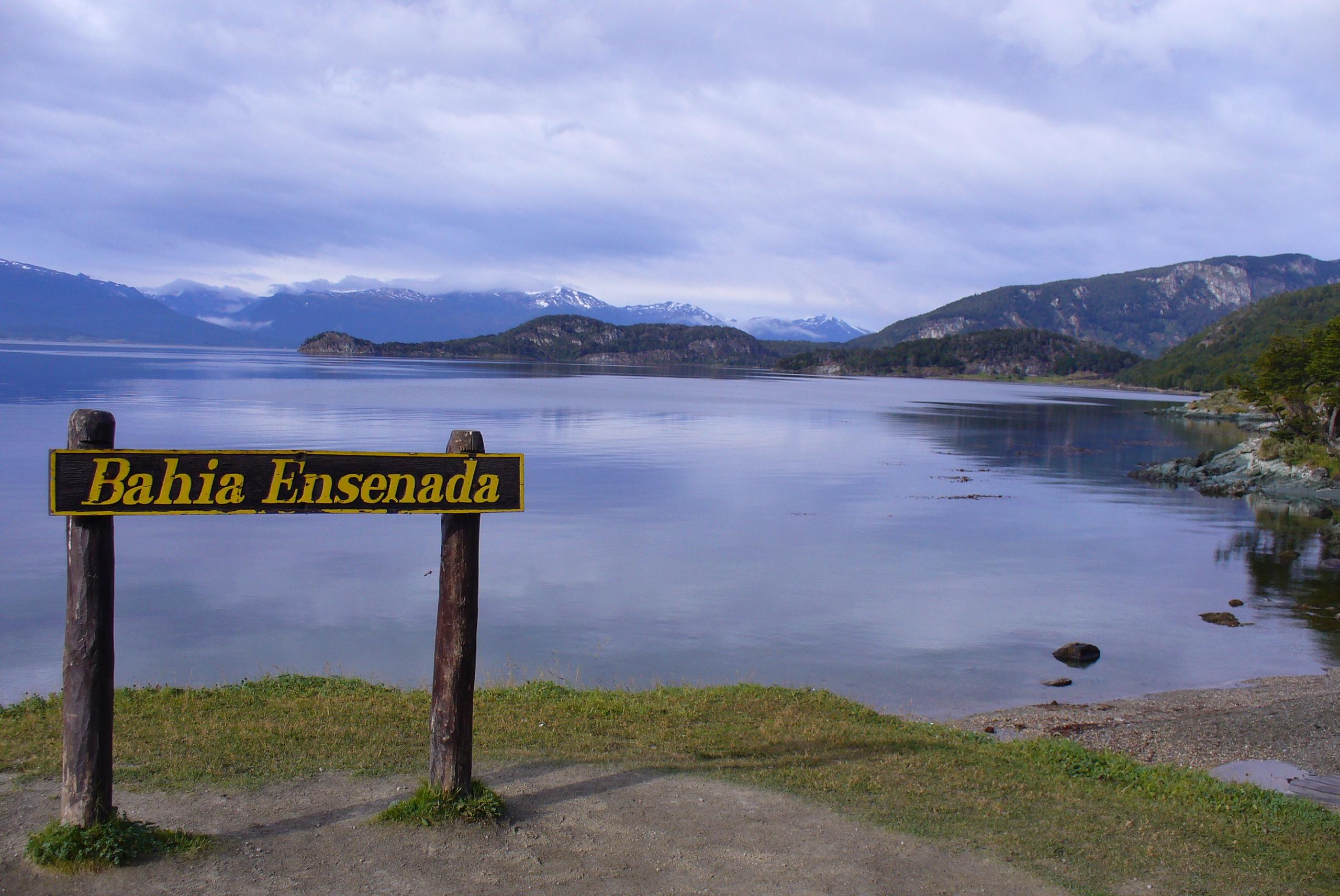 Bahía Ensenada, en el parque nacional Tierra del Fuego