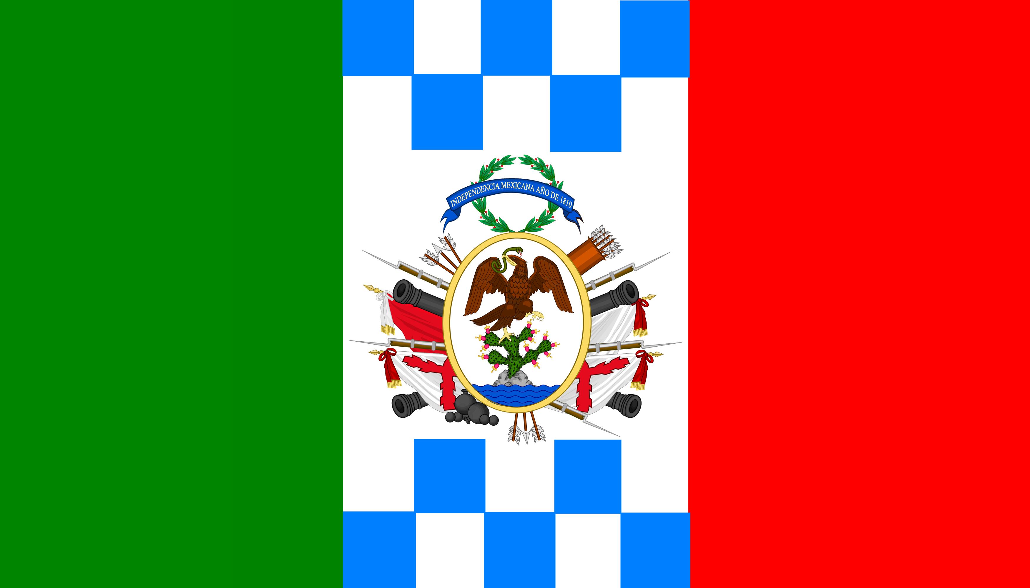 File Bandera De Supremo Gobierno Mexicano Combinacion