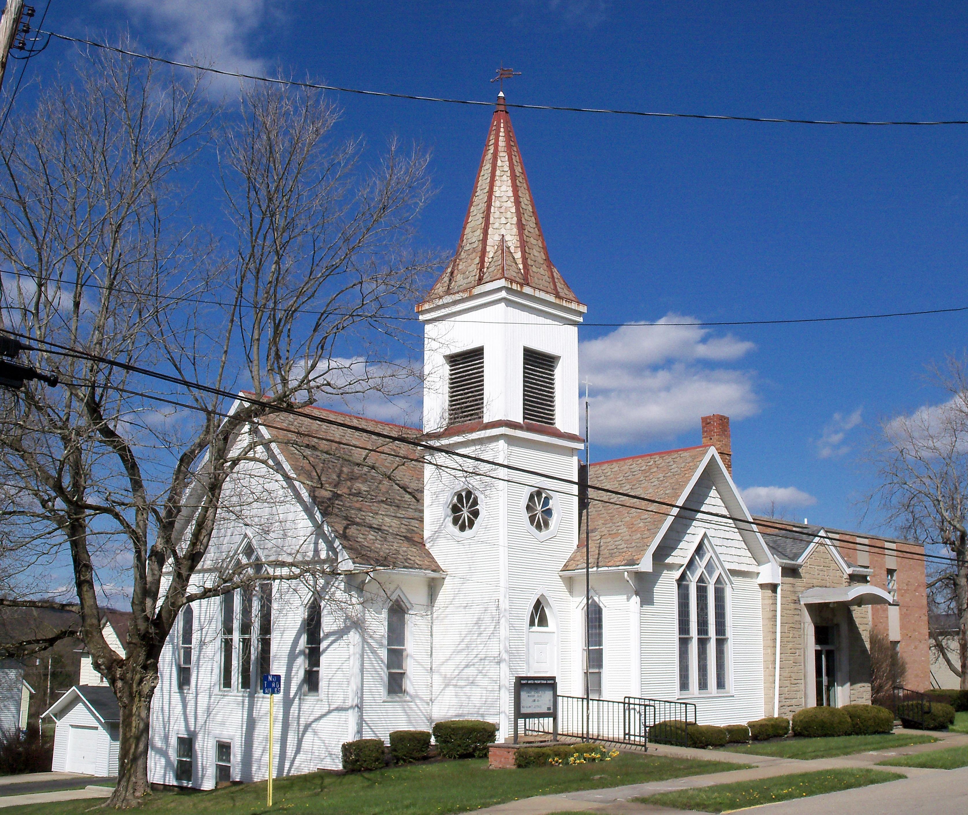 Ohio jefferson county bergholz - File Bergholz Ohio Trinity United Presbyterian Church Jpg