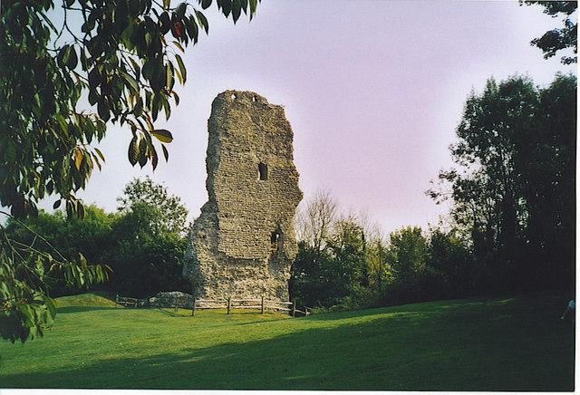 Bramber Castle. - geograph.org.uk - 175385