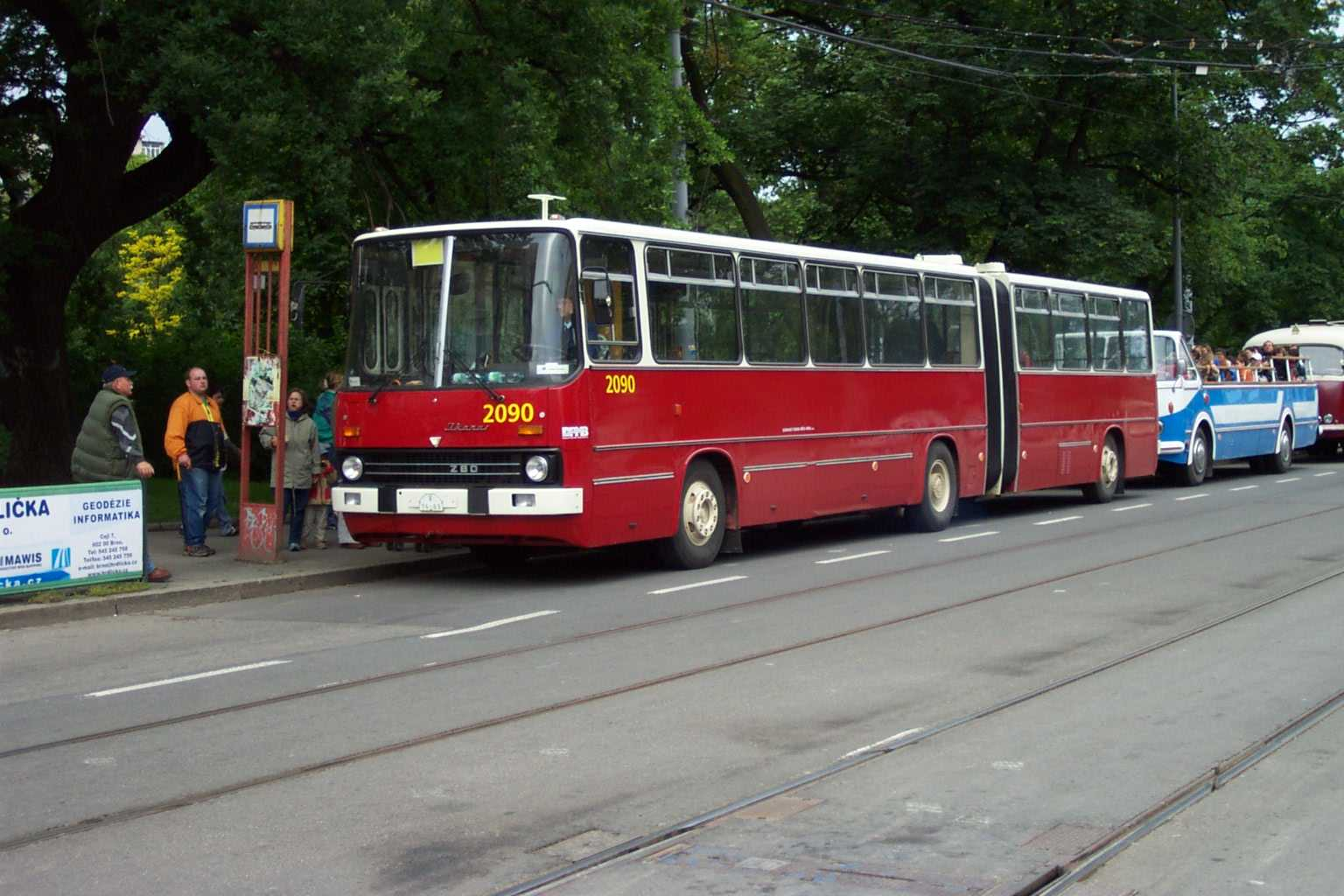 File Brno Moravsk N M St Historick Ikarus 280