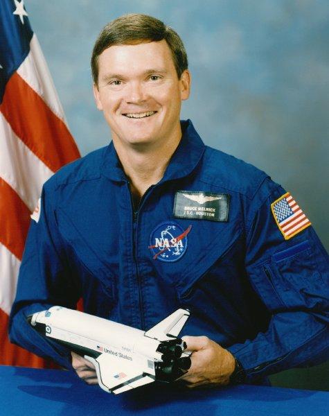 Astronaut Bruce Melnick, NASA photoSource: Wikipedia Bruce_E._Melnick.jpg
