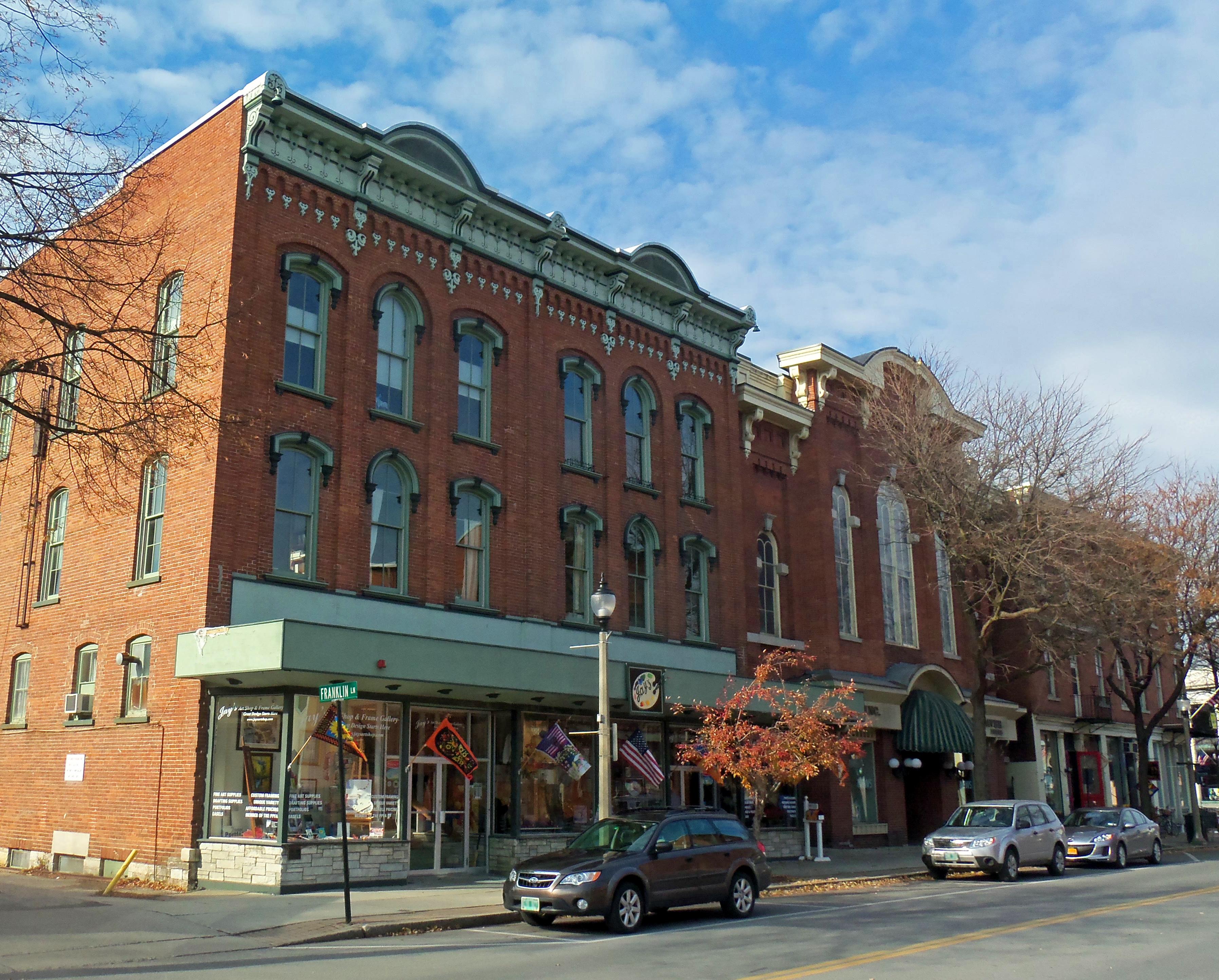 ファイル buildings on south main street downtown bennington vt jpg