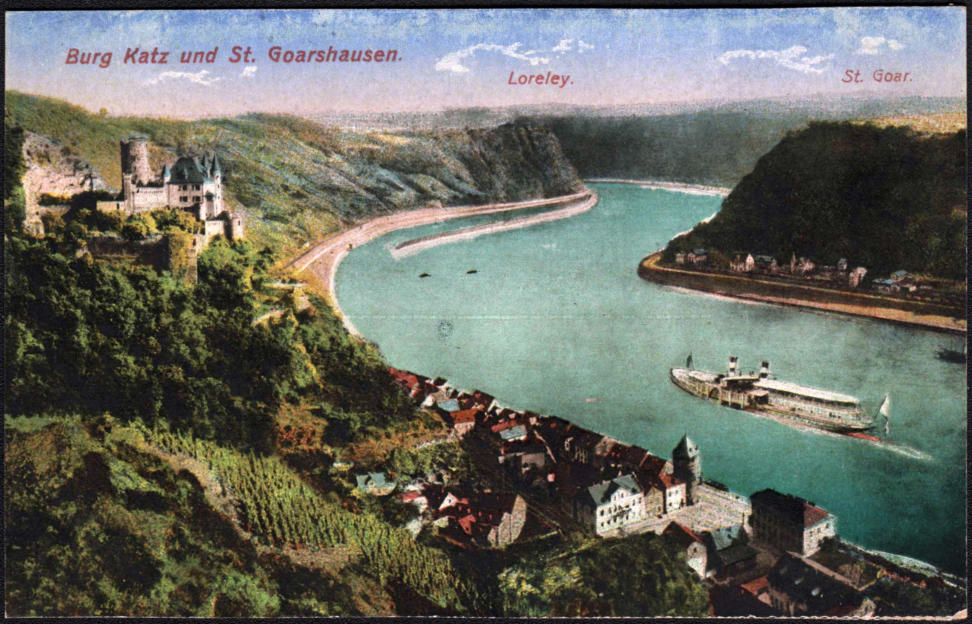Hotels In St Goarshausen Loreley
