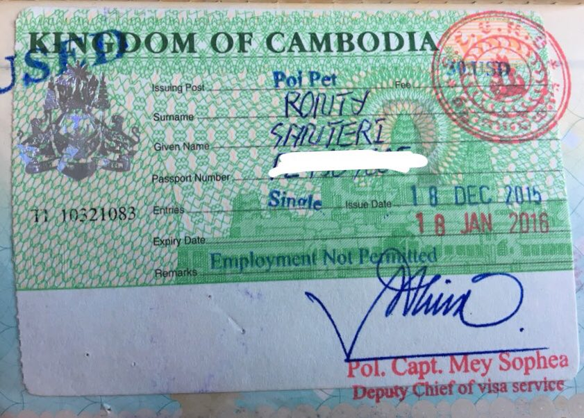 File:Cambodia Visa on Arrival.jpg - Wikipedia