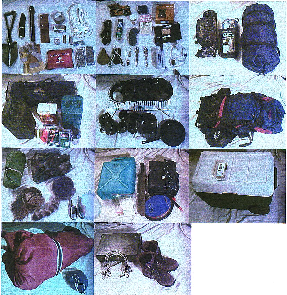 Camping survival gear australia