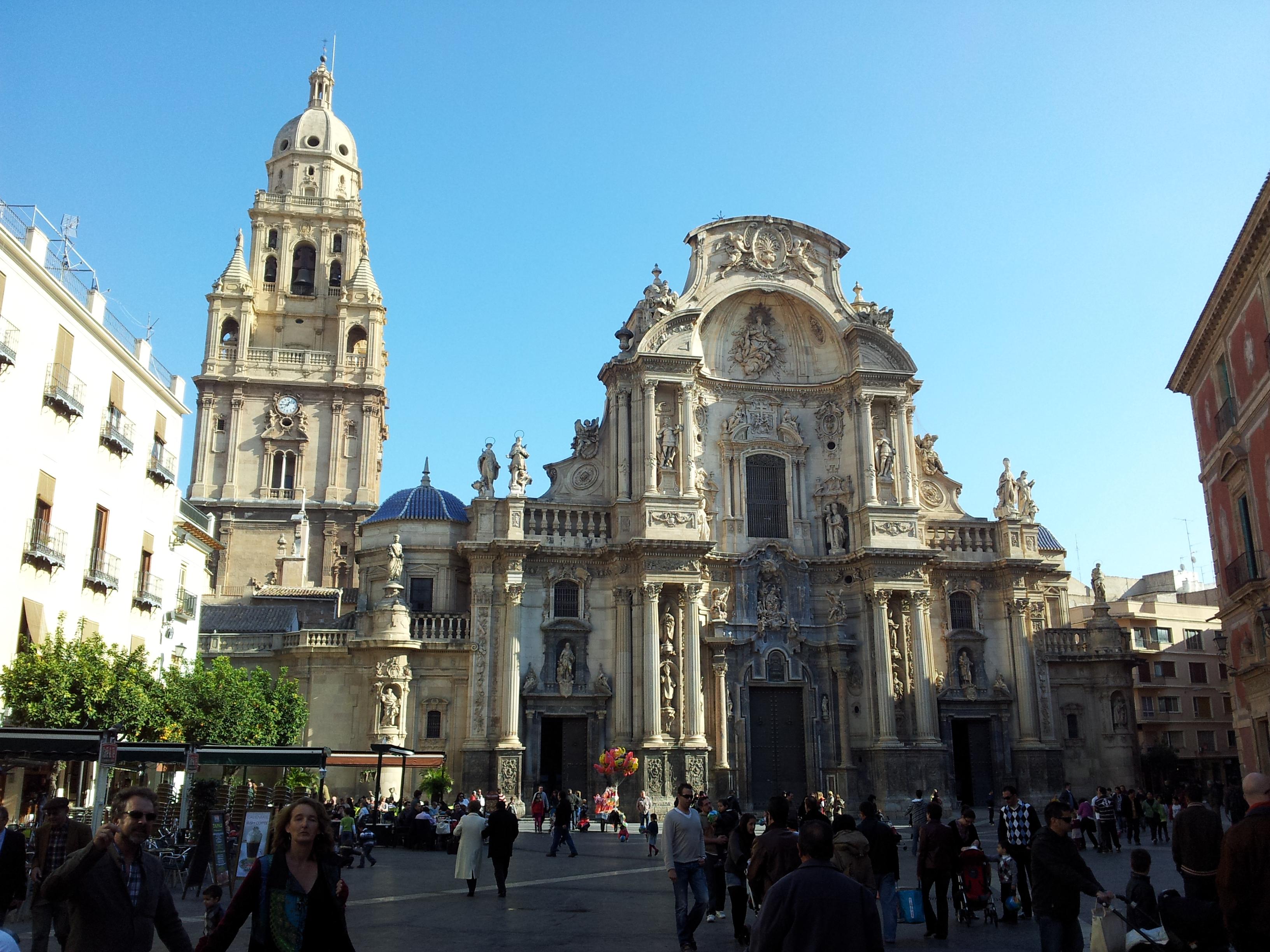 File:Catedral de Santa María, Murcia.jpg - Wikimedia Commons