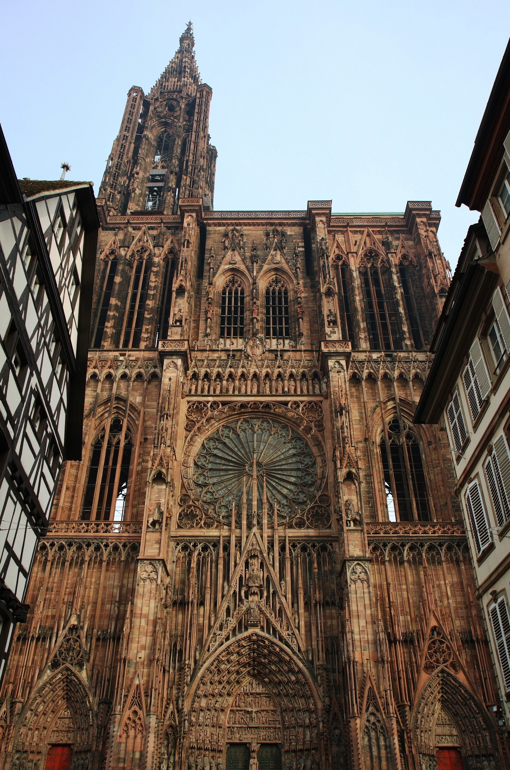 File cath drale wikimedia commons for Strasbourg architecture