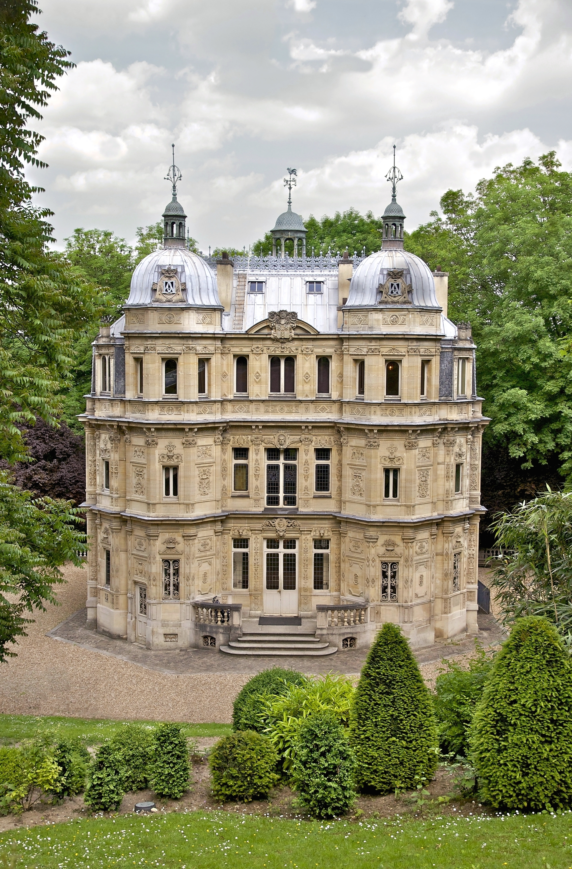 File ch teau monte cristo port marly wikimedia commons for Chateau dans les yvelines