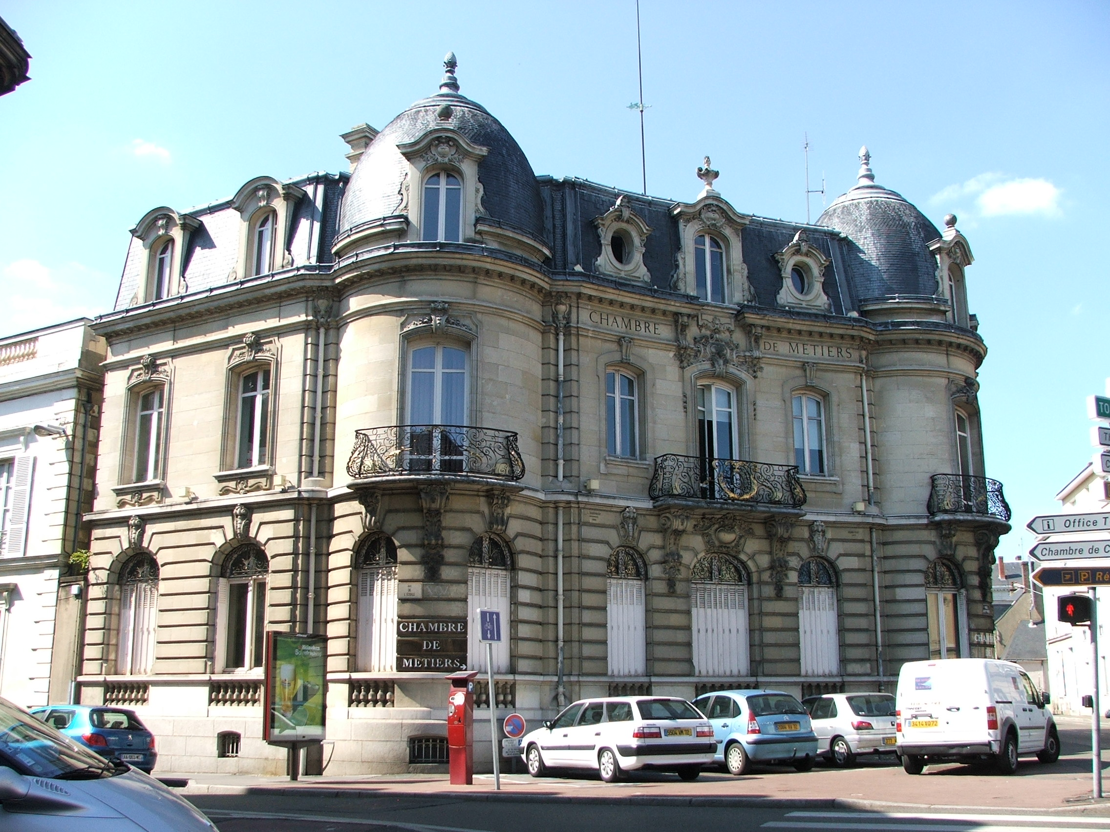 File Chambre de Métiers du Mans JPG Wikimedia mons