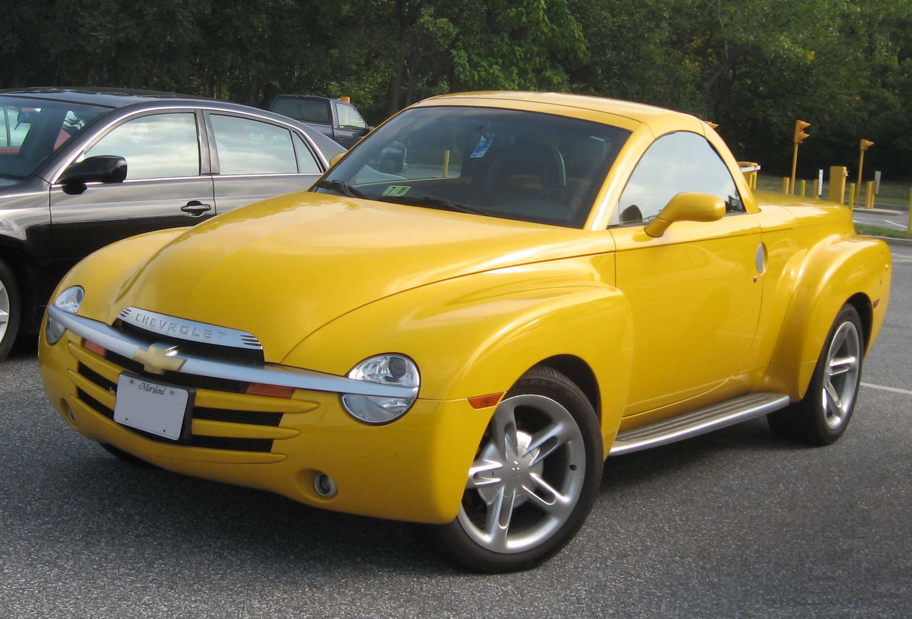 Description Chevrolet SSR