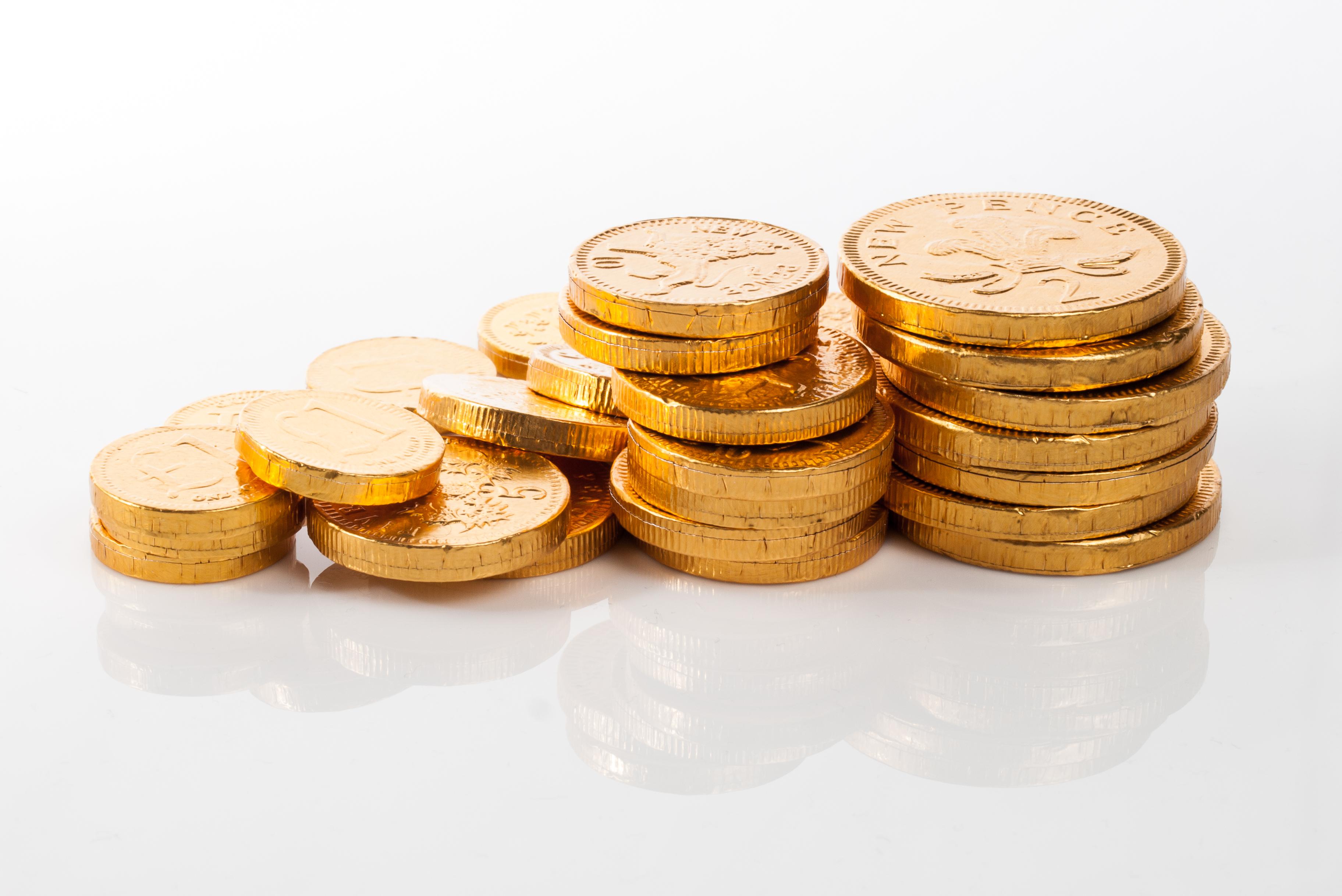 File:Chocolate Coins (11734181054).jpg - Wikimedia Commons