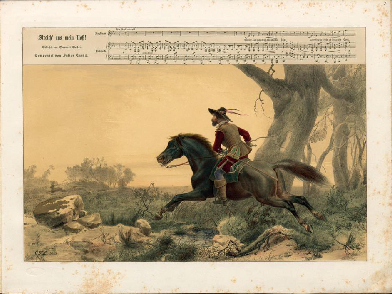 Filedüsseldorfer Lieder Album Arnz Co 1851 S 17