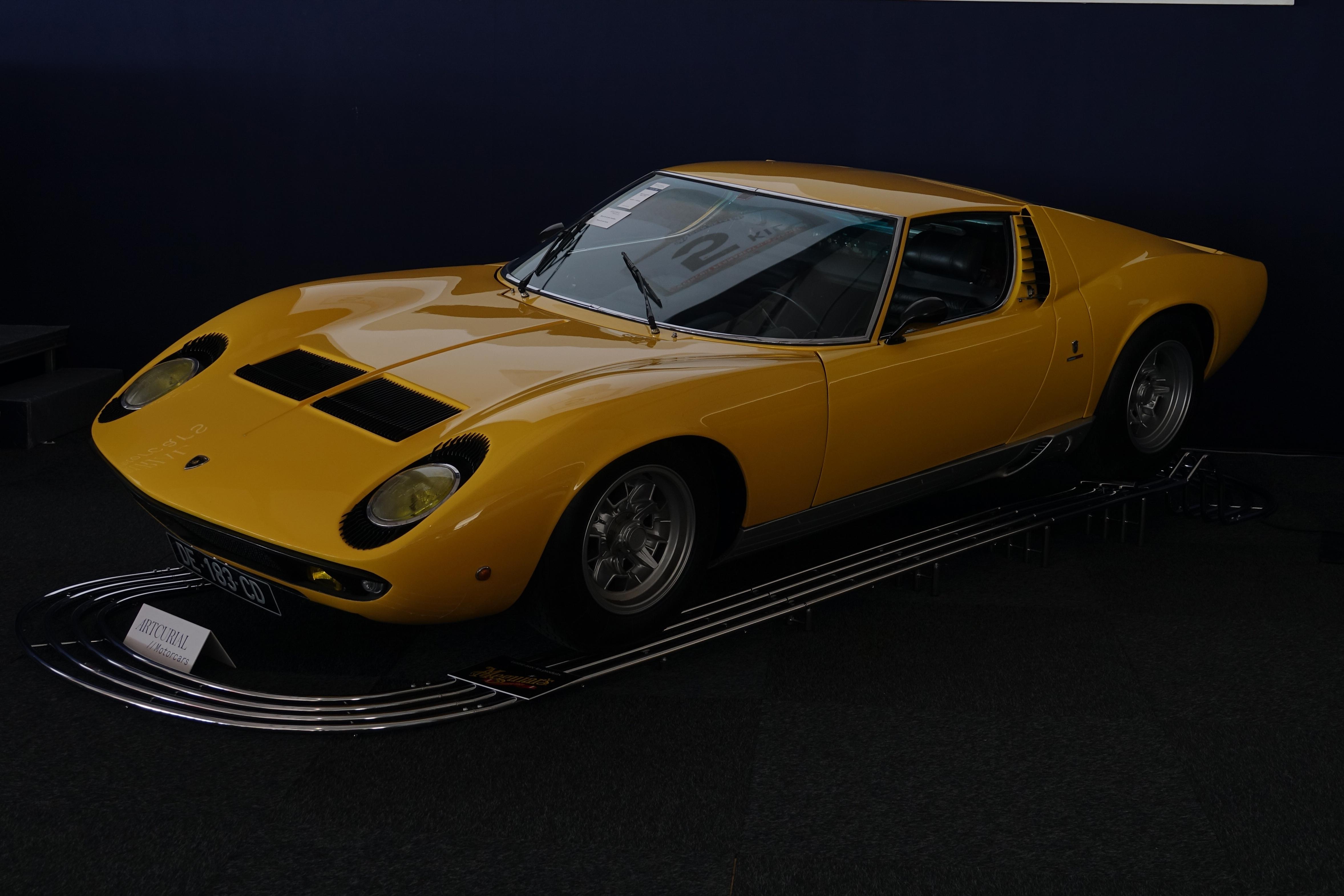 File Dsc03424 Lamborghini Miura Artcurial Le Mans Classic Jpg