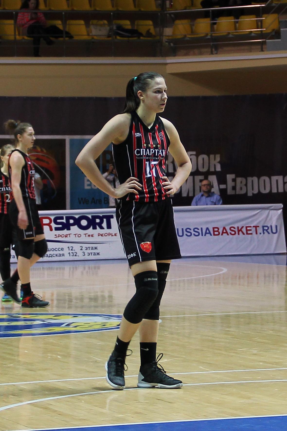 Колосовская, Дарья Ивановна