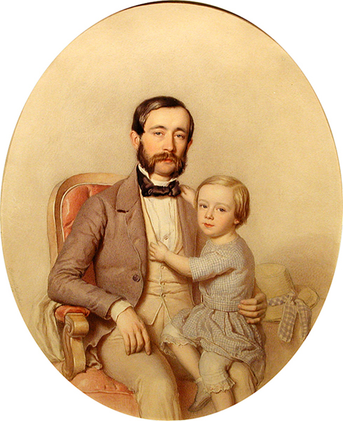 Decker - Father with child