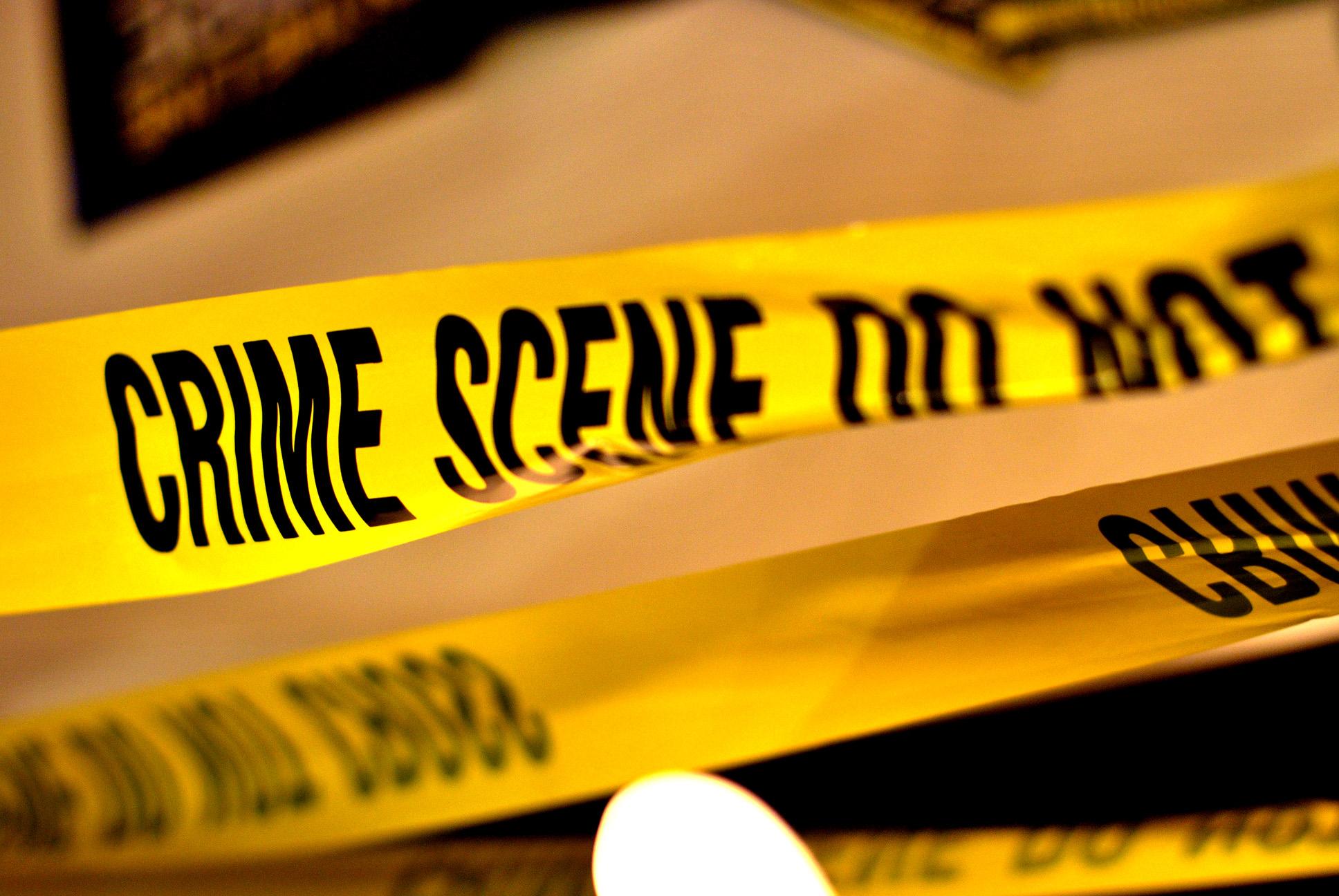 Image of crime scene tape
